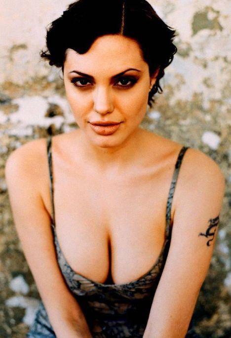 Jolie'nin şok pozları - 36